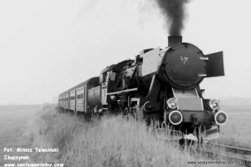 Na szlaku Fosowskie - Dobrodzień 17.10.1987.