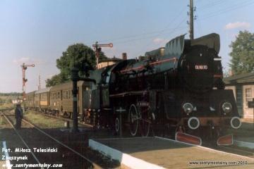 Mijanka po drodze w Janowcu Wlkp. w dniu 09.09.1988.