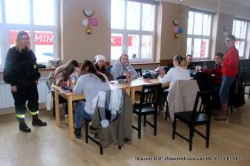 W gotowości na terenie domu kultury w Zbąszynku w dniu 15.01.2017