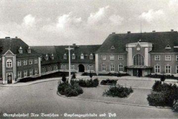Plac Dworcowy około 1940 roku