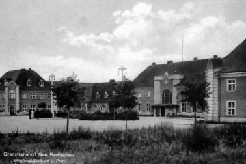 Plac Dworcowy w 1930 roku.