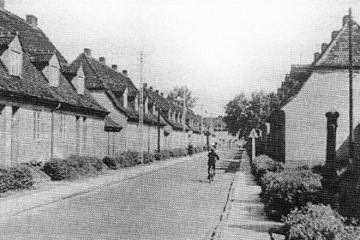 Ulica Kilińskiego w latach 60 tych, widok w stronę Placu Wolności.
