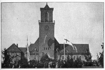 Kościół ewangelicki (duży) w 1931 roku.