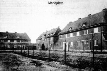 Plac Wolności (Lindeplatz, Hindenburgplatz, Hitlerplatz) tuż po wybudowaniu.