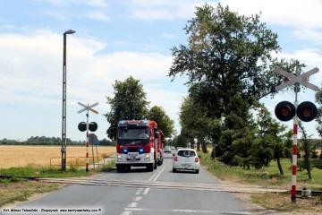 07.07.2018 Przejazd kolejowy na odcinku Zbąszynek - Dąbrówka Wlkp.
