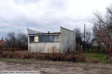 Bronikowo - nie istniejąca hydrofornia w dniu 23.11.2009.