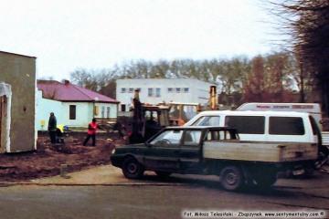 """13.12.2005 Budowa """"Biedronki"""""""