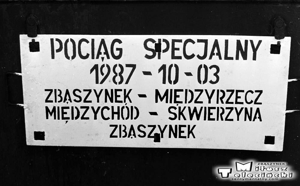 3.17. Pociąg specjalny – 1987