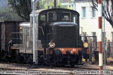 SP30 - 162 na manewrach. 11.05.1986.