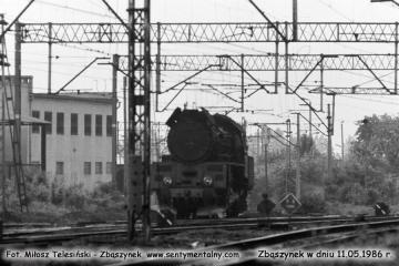 Ol49-54 od składu Leszczyńskiego, wraca z obrotnicy. 11.05.1986