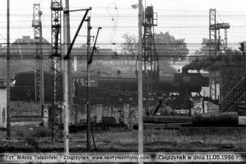 Koło zasieków węglowych. 11.05.1986