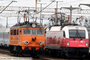 Wjeżdżający IC Warszawa - Berlin, 09.04.2019