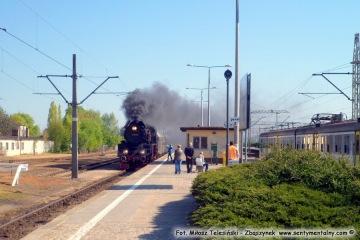 Pociąg specjalny z Wolsztyna do Międzychodu 03.05.2016