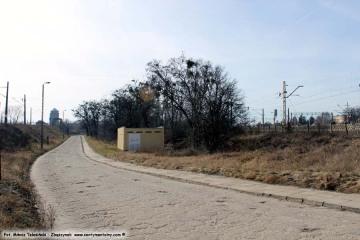 04.03.2017 Ulica Kolejowa. Powstała w latach 60 tych, zastępując komunikację z częścią towarową, przy ulicy Koziczyńskiej.