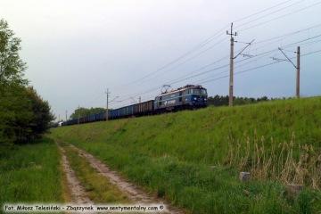 """Poc. towarowy z Rzepina, koło nastawni """"Dąbrówka"""" w Zbąszynku 18.05.2016"""