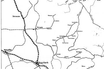 Mapka z 1919 r.