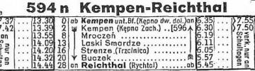 1935 Kępno - Rychtal