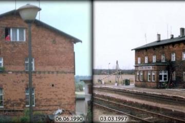 Bukowina Bobrzańska w dniu 06.06.1990 oraz 03.03.1997.