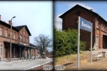 Bieniów 1997 oraz 2019