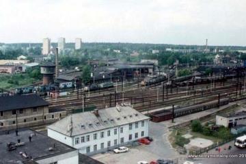 Olsztyn Gł. w czerwcu 1993 r.
