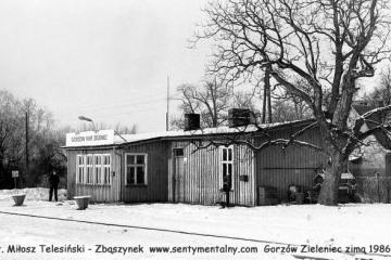 Gorzów Ziel. zima.1986-87