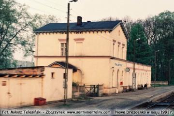 Nowe Drezdenko w maju 1991