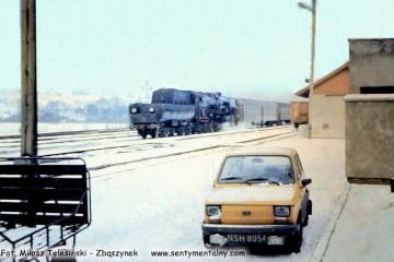 Gorlice Zagórzany w lutym 1986