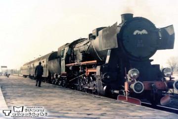 Ty2-1308 w Gołdapi 04.04.1989.