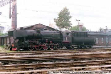 Ty2-1361 przy lokomotywowni Olsztyn w dniu 17.06.1988.