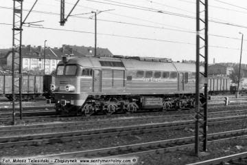 Poznań Główny 01.06.1990, ST44-539