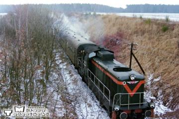 SP42-090 Bukowa Śląska - Kępno w dniu 19.02.1992