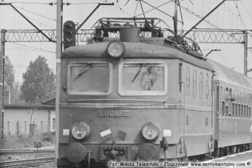 """Zbąszynek. EP05-16 z """"Beroliną"""" w dniu 23.05.1987"""