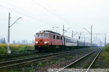 Zbąszynek - Lubuszanin do Warszawy 23.07.1990