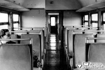 W pociągu do Rudnicy 22.09.1987.