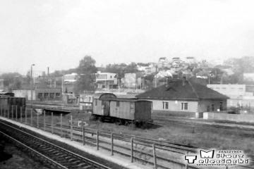 30.04.1991 Gorzów Wlkp. w maju 1991. Zaplecze lokomotywowni .