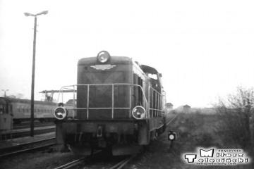 Gorzów Wlkp w maju 1991. W oddali perony nadwarciańskie od strony dworca towarowego.