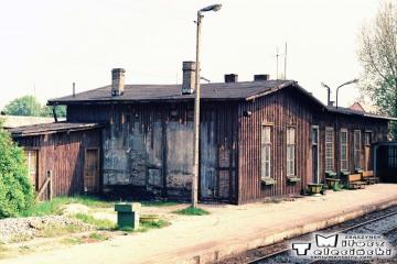 Gorzów Wlkp. w maju 1991. Budynek zniknął - zawalił się przy rozbiórce 06.12.1994 r.
