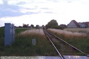 Przejazd za Dąbrówką Wlkp. w stronę Zbąszynka w dniu 27.07.2004.