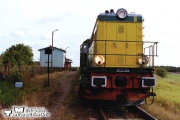 Chociszewo-Rogoziniec 19.09.2002, SP32-088 w stronę międzyrzecza.