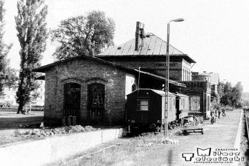 Ośno Lubuskie w dniu 08.09.1986.