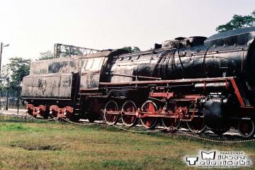 Rzepin 10.09.1991. Pomnik Ty51-37.