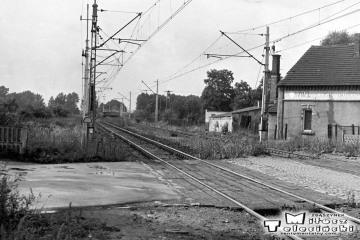 Szczaniec 31.08.1986. Widok w stronę Rzepina.