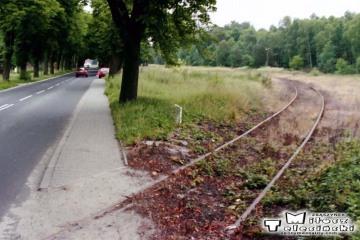Przewóz w dniu 18.06.1999. Przejazd w kierunku potoku.