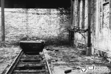 Przewóz 22.08.1986. W lokomotywowni.