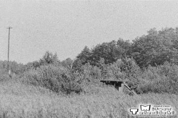 Wymiarki w dniu 03.08.1986. Przepust w stronę Jankowej Żagańskiej.