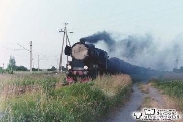 Ty2-1086. Zbąszyń Przedmieście - Zbąszyń. Towarowy z Wolsztyna w dniu 05.07.1994.