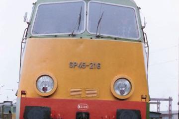 Leszno - lokomotywownia w dniu 08.03.1988.