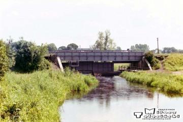 Zbąszyń Przedmieście - Zbąszyń. Rozwidlenie do Międzychodu w dniu 05.07.1994.