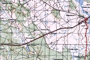 1964 Na mapie wydanej w Niemczech wykazana jeszcze w 1964 roku.