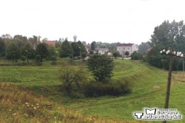 Za Oleckiem w stronę Suwałk w dniu 14.09.1990.